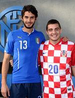 Croazia-Italia: Ranocchia, Kovacic e Brozovic in campo