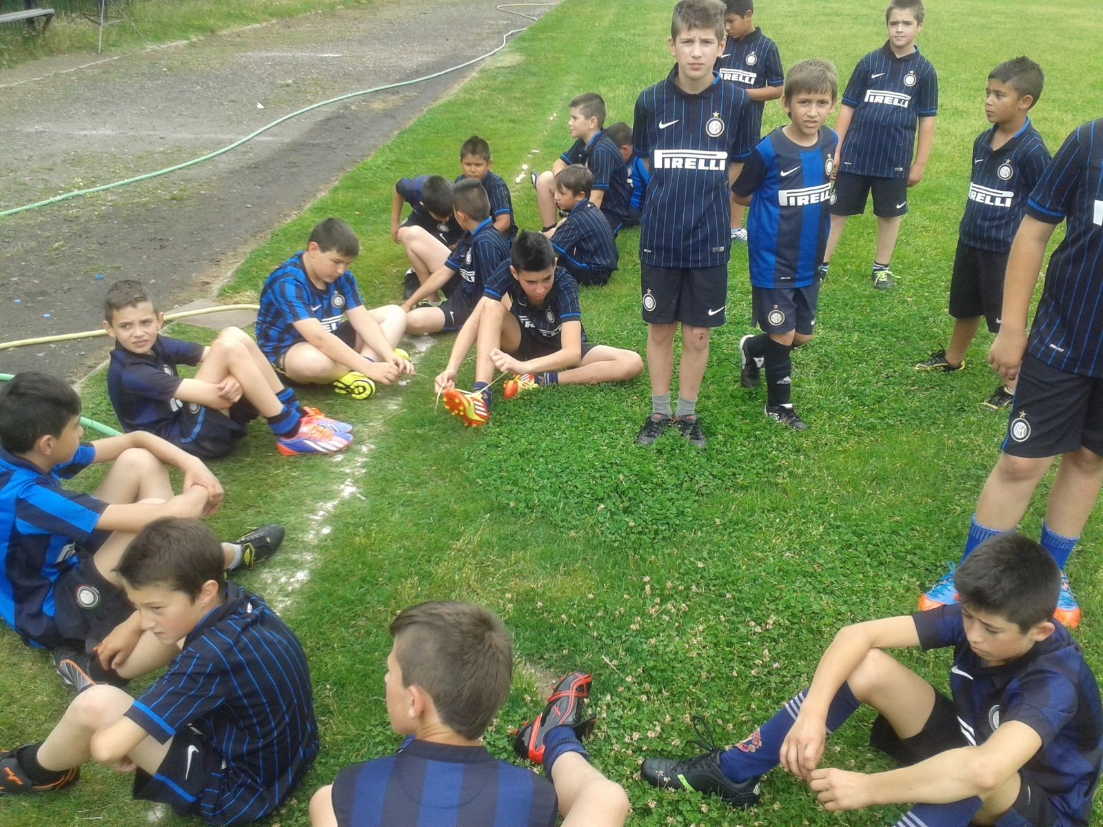 Party atmosphere at Inter Campus Bulgaria