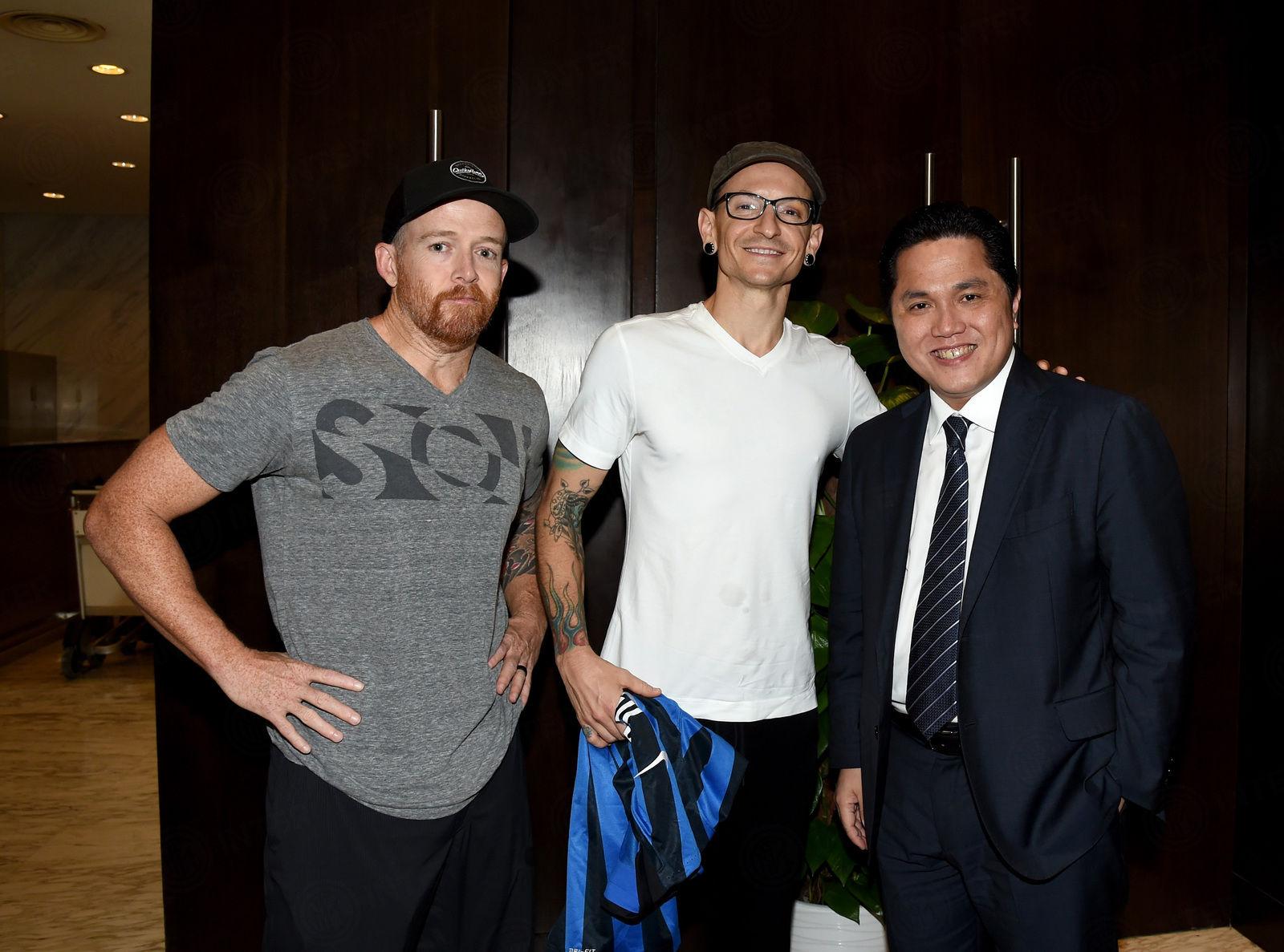 Verso Shenzhen, il saluto dei Linkin Park ai nerazzurri