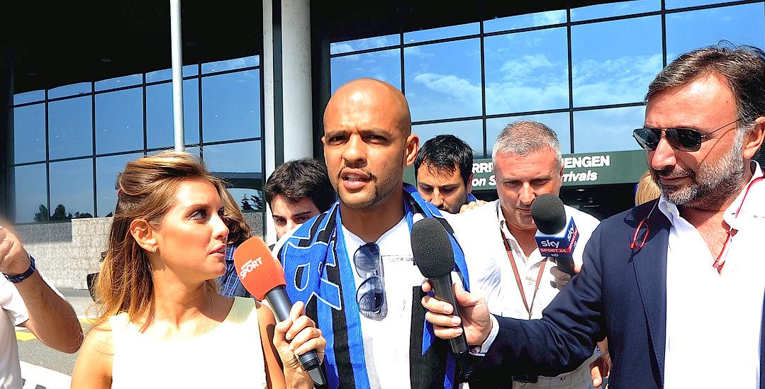 Felipe Melo en Milán