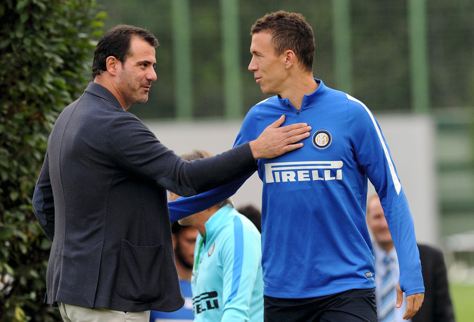 L'allenamento della vigilia di Inter-Hellas Verona