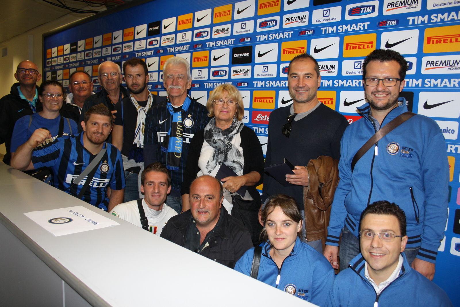 """Gli Inter Club nelle zone esclusive del """"Meazza"""""""