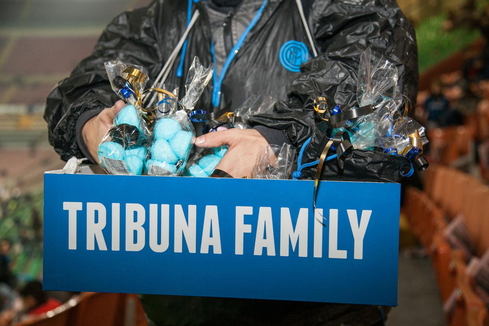La Tribuna Family di Inter-Lazio