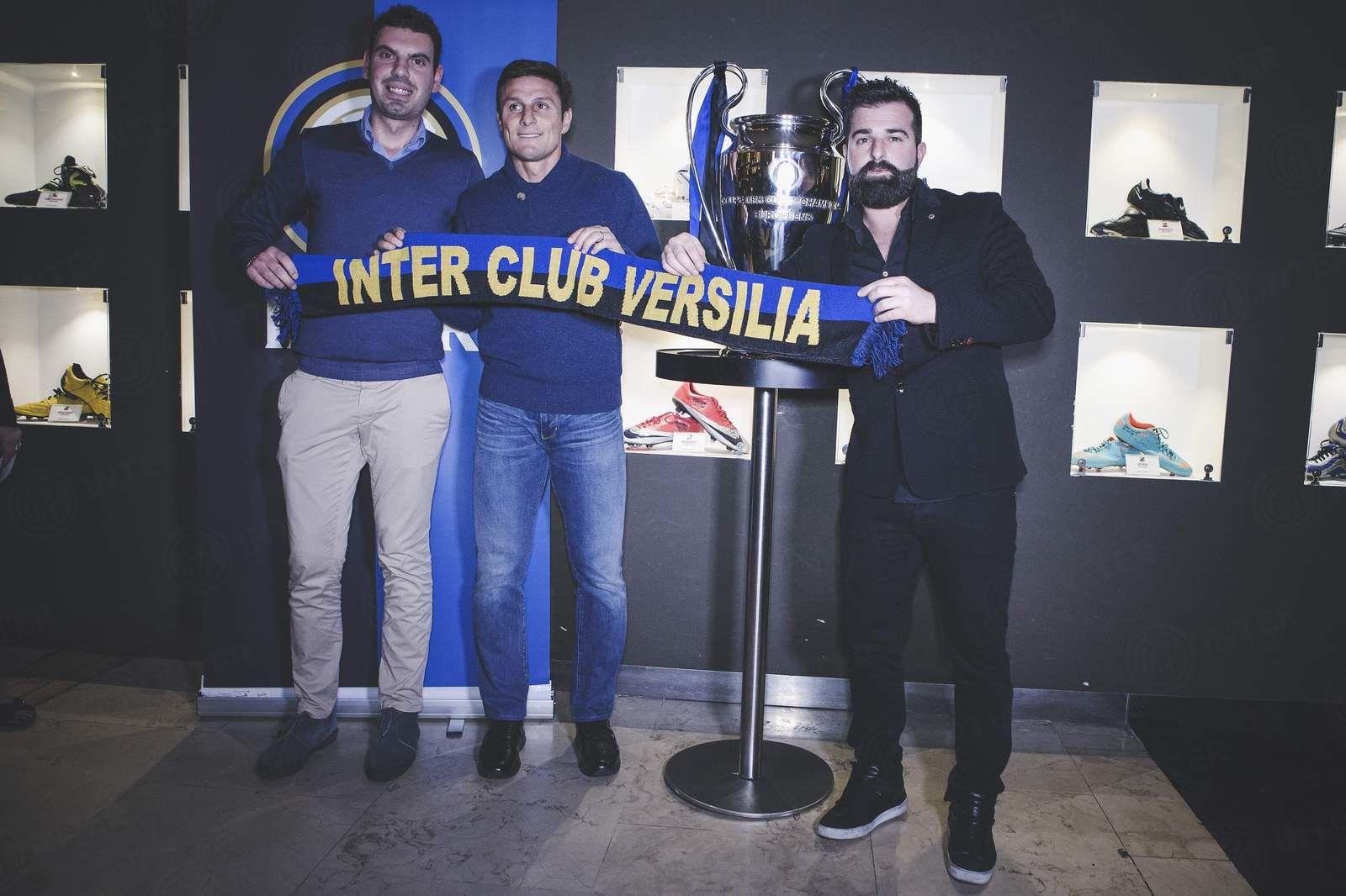 Zanetti e la Champions con gli Inter Club