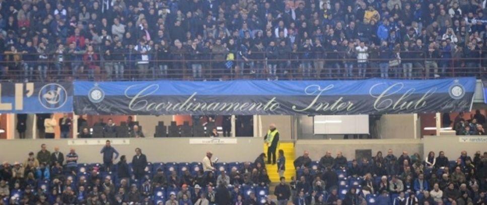 Inter-Torino, striscioni accreditati