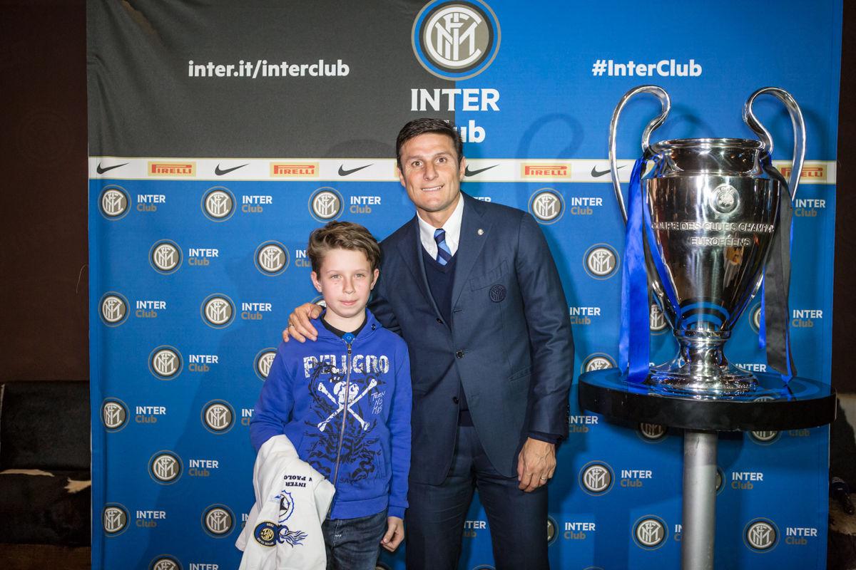 Emozioni alla Inter Club Night Out con Zanetti