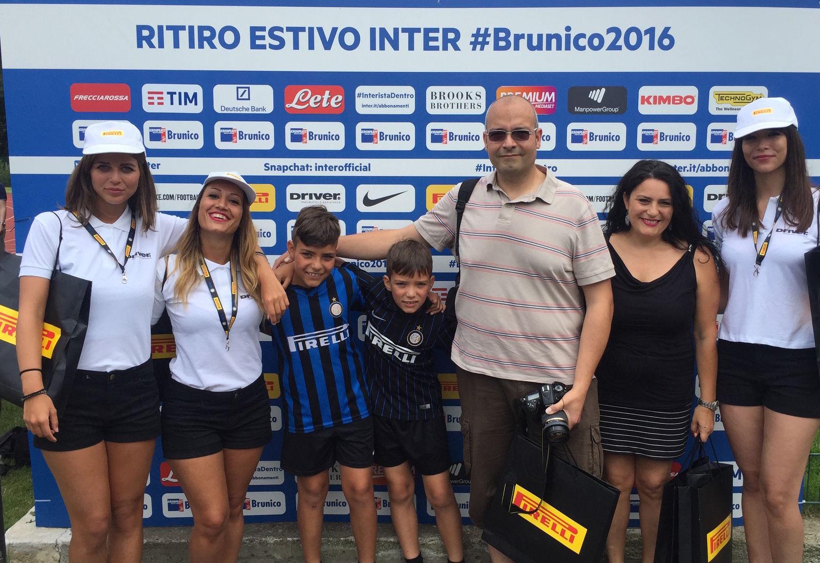 Soci Inter Club protagonisti a Brunico con Pirelli e Driver