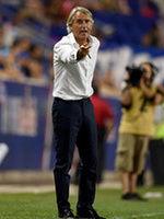 """Mancini: """"Bene la prima mezz'ora, continuiamo così"""""""