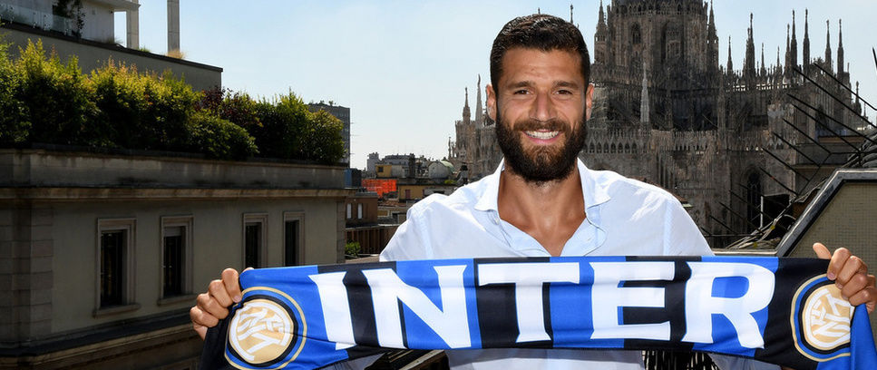 Antonio Candreva è dell'Inter