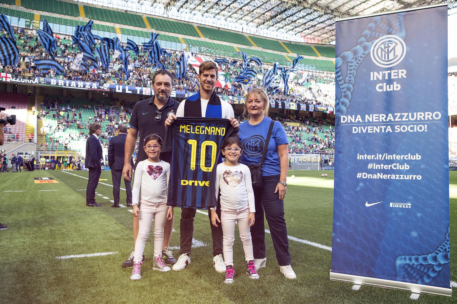 Ansaldi premia gli Inter Club di Ungheria e Melegnano