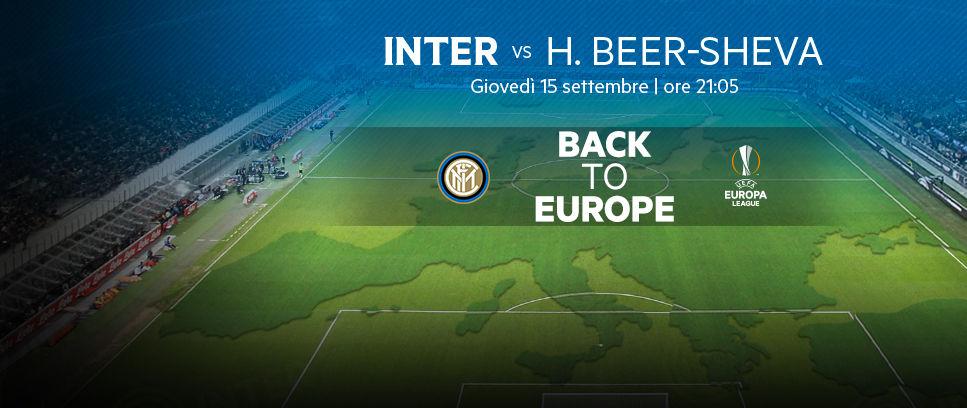 Tiket untuk laga Inter vs Be'er Sheva mulai dijual