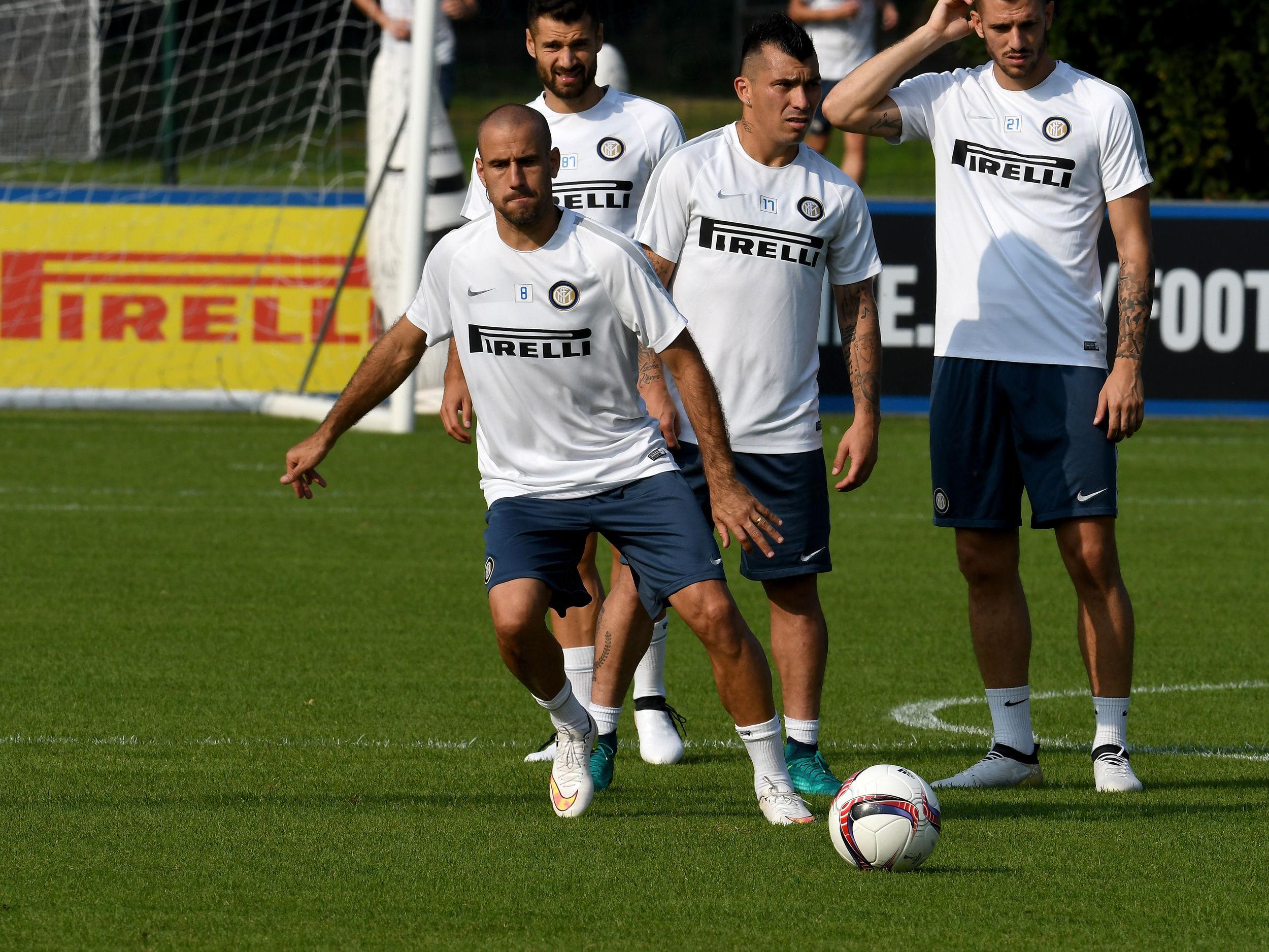 Prosegue la preparazione verso Sparta Praga-Inter