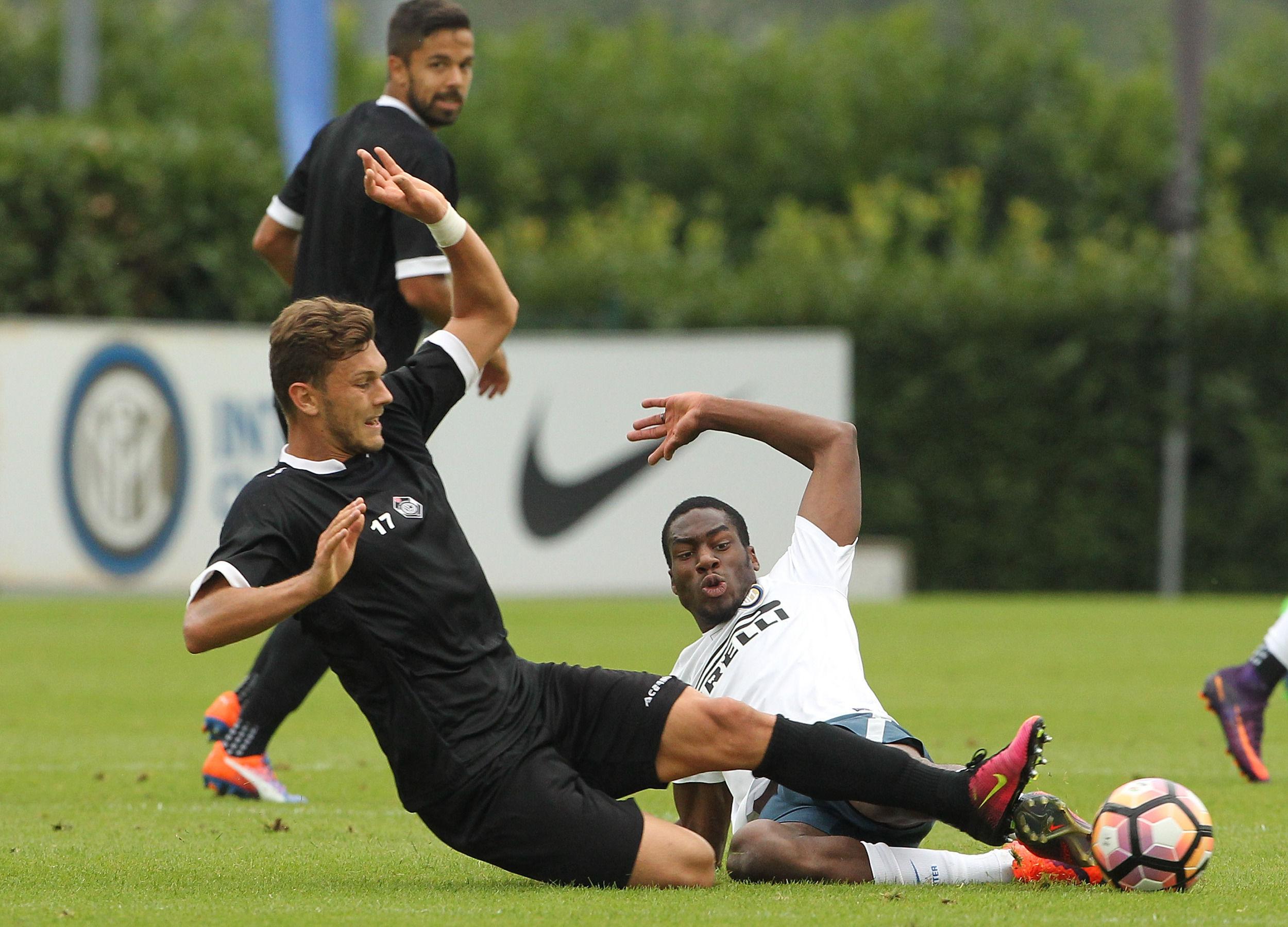 Seduta di allenamento con il Lugano