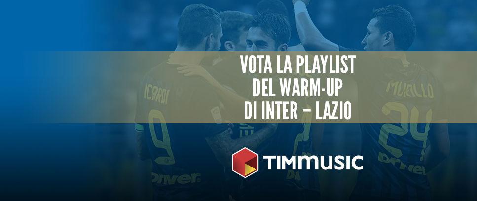 Scegli la colonna sonora del prepartita di Inter-Lazio