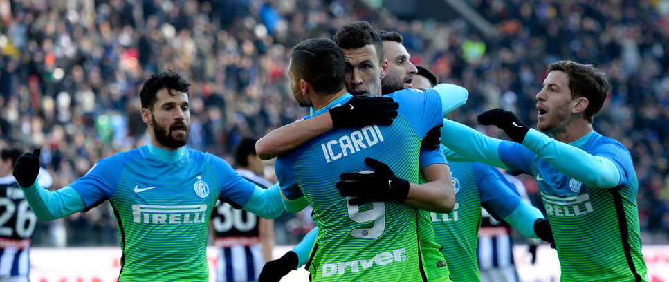Perisic double downs Udinese