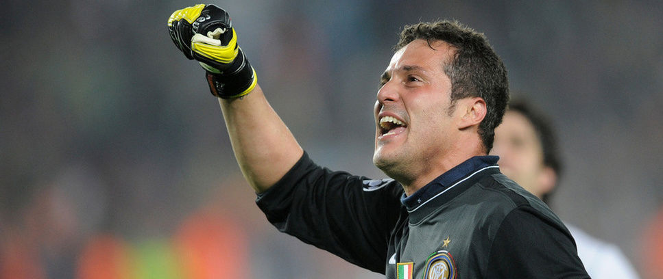 Julio Cesar, the goalkeeper behind the treble