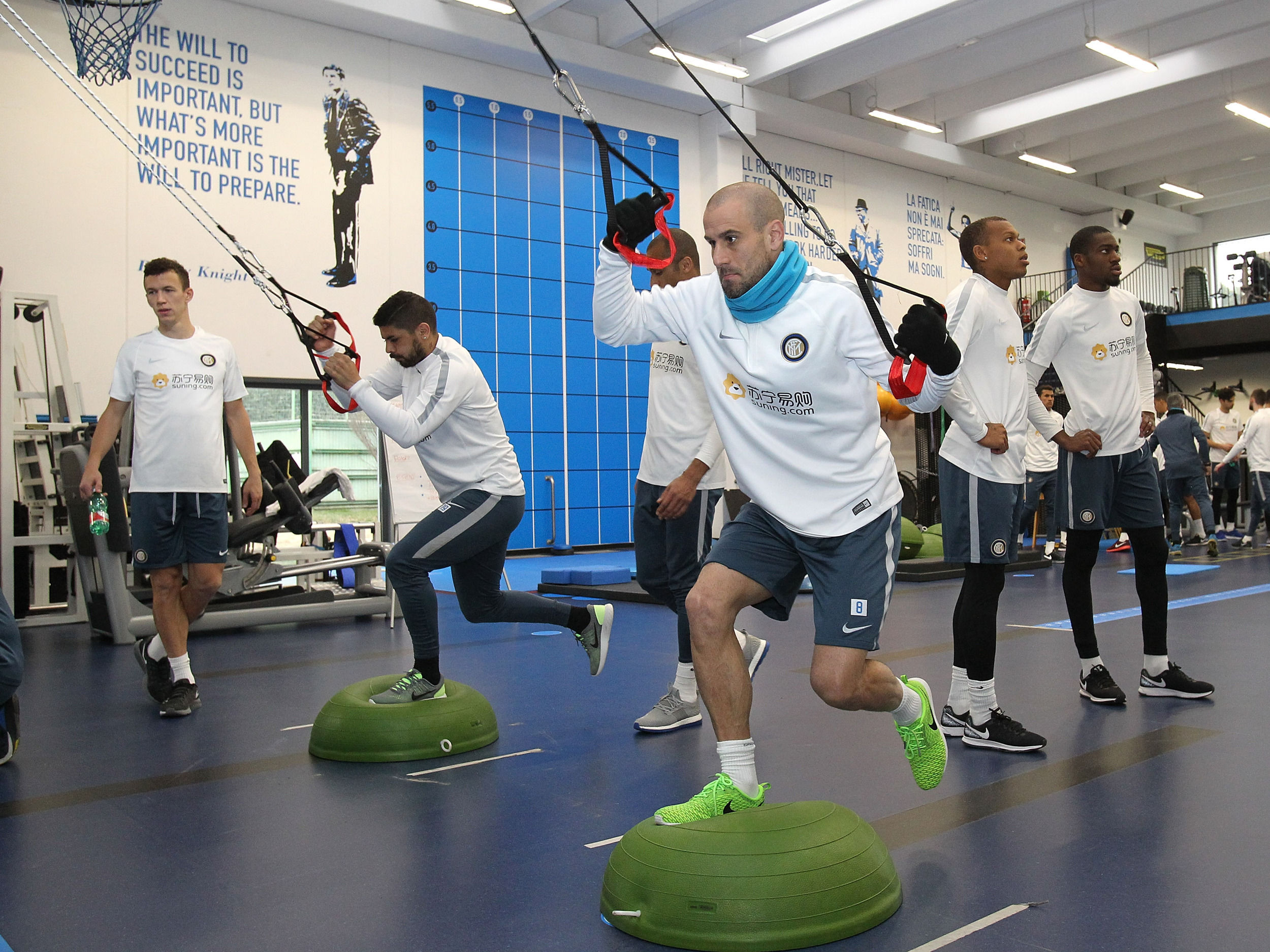 Secondo allenamento verso Inter-Chievo