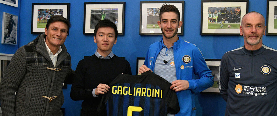 Gagliardini unveiling a huge success