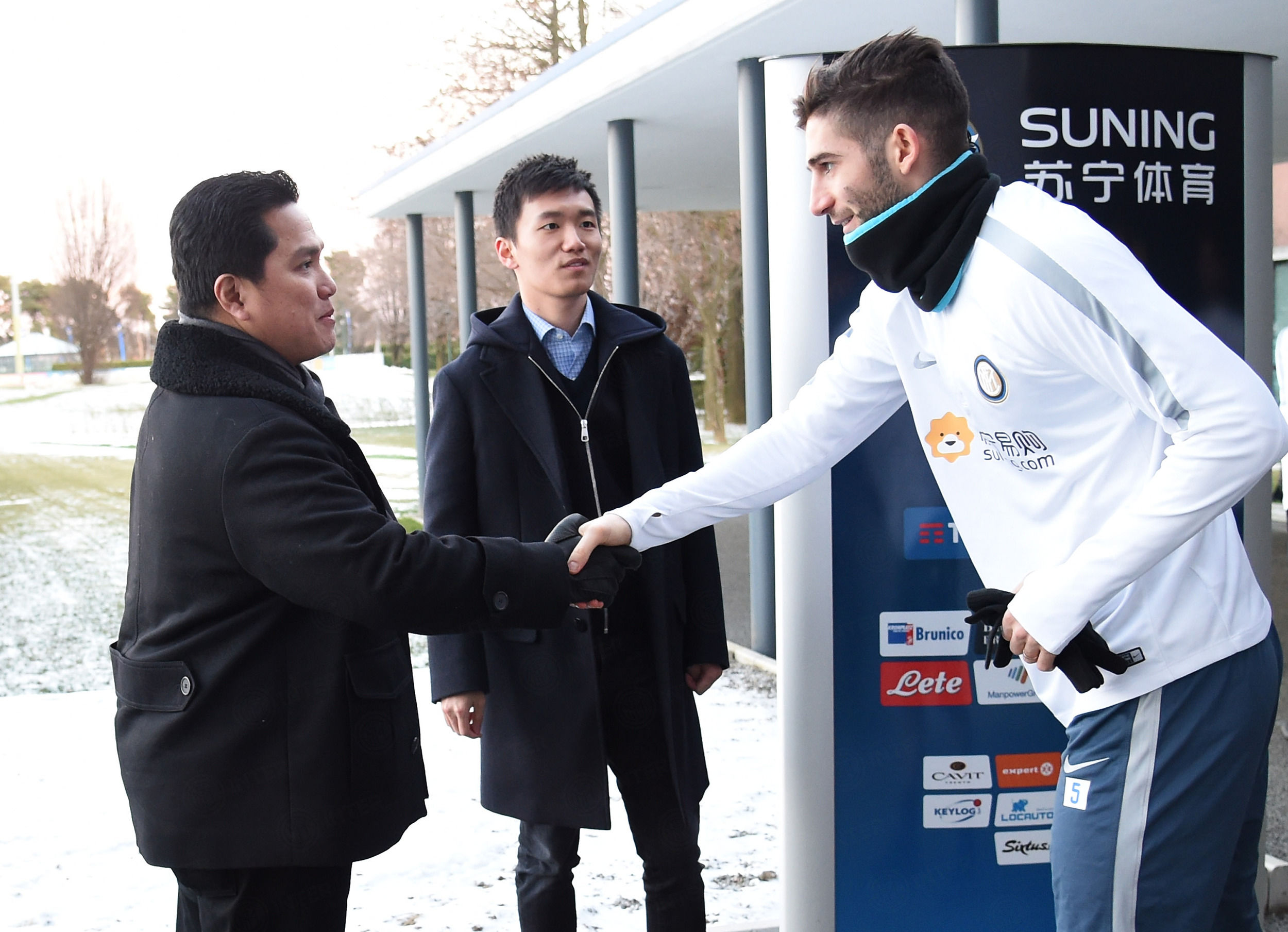 Erick Thohir en Milán