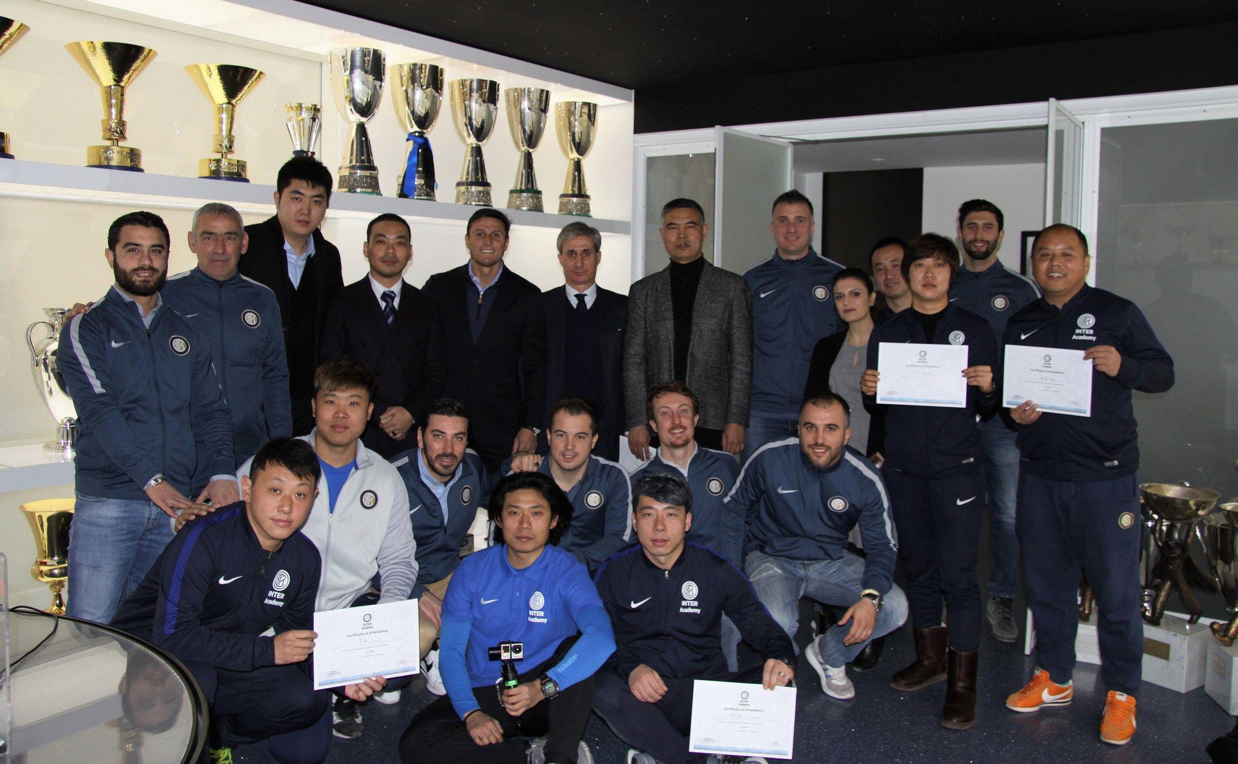 In-depth course for Inter Academy Yihai Beijing
