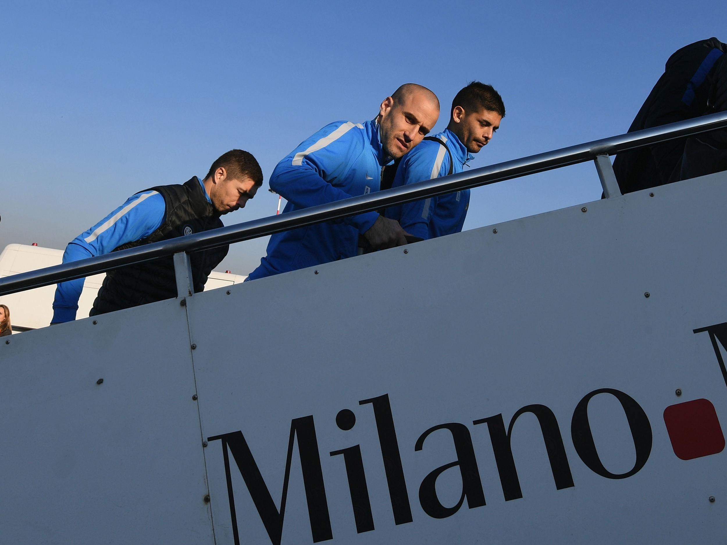 Palermo-Inter, el viaje de los neazzurri