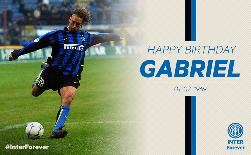 Selamat ulang tahun Gabriel Batistuta