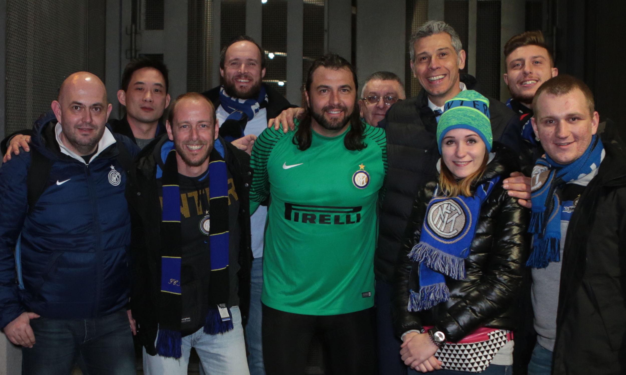 Inter Forever bertemu Inter Club