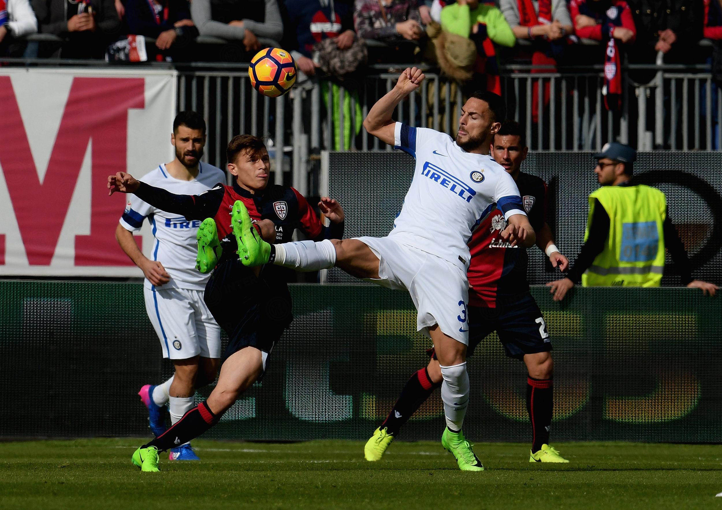 Las mejores fotos del Cagliari-Inter