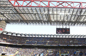 Fans memecahkan rekor di San Siro