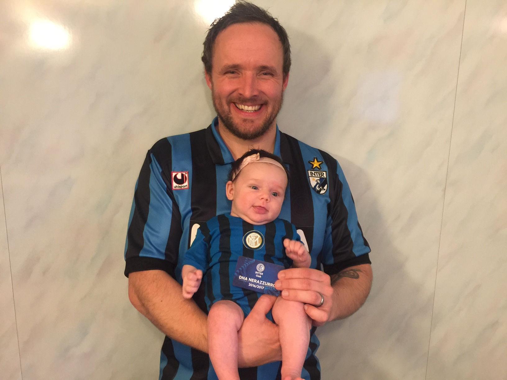 Inter Club sprinkle black and blue in Norway