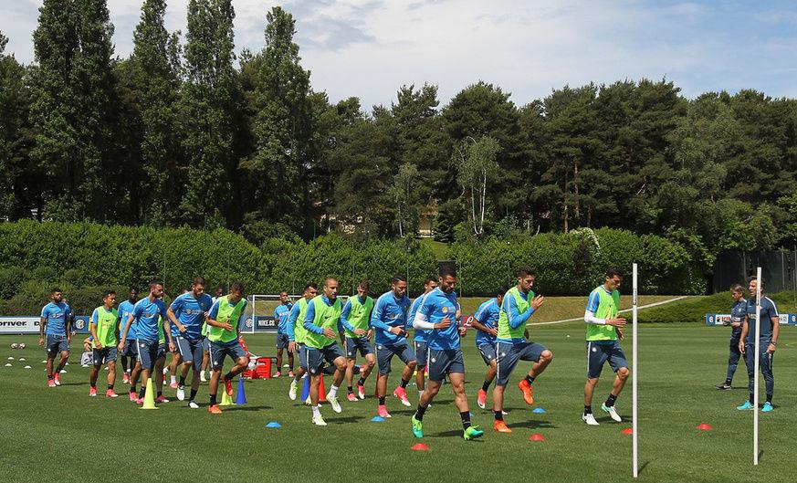 24 nerazzurri convocati per Lazio-Inter