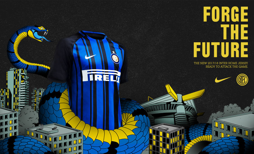 Inter and Nike present 2017/18 home kit
