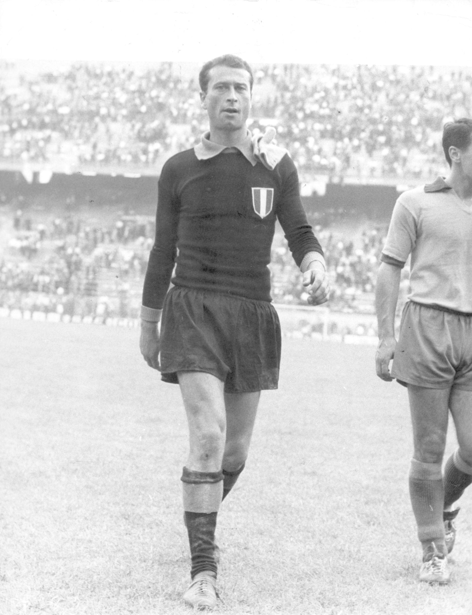 Il cordoglio dell'Inter per la scomparsa di Giuliano Sarti