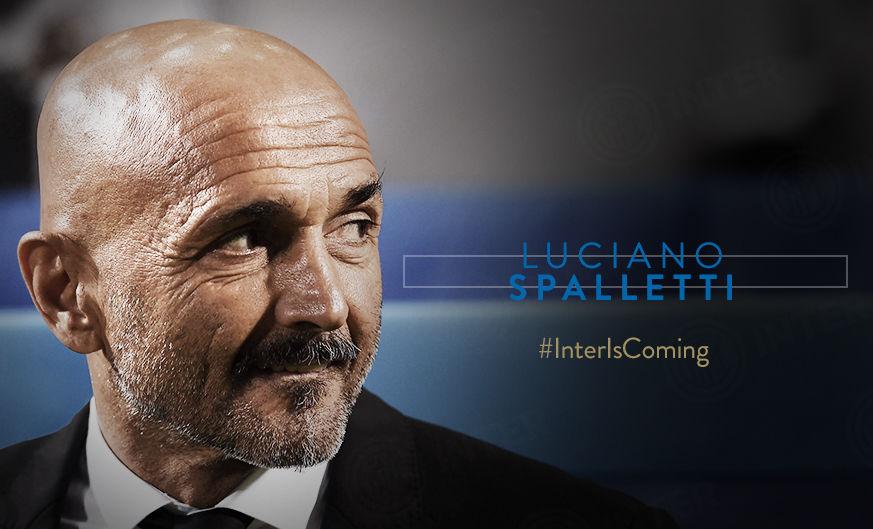 国际米兰足球俱乐部确认卢西亚诺-斯帕莱蒂将担任球队主教练
