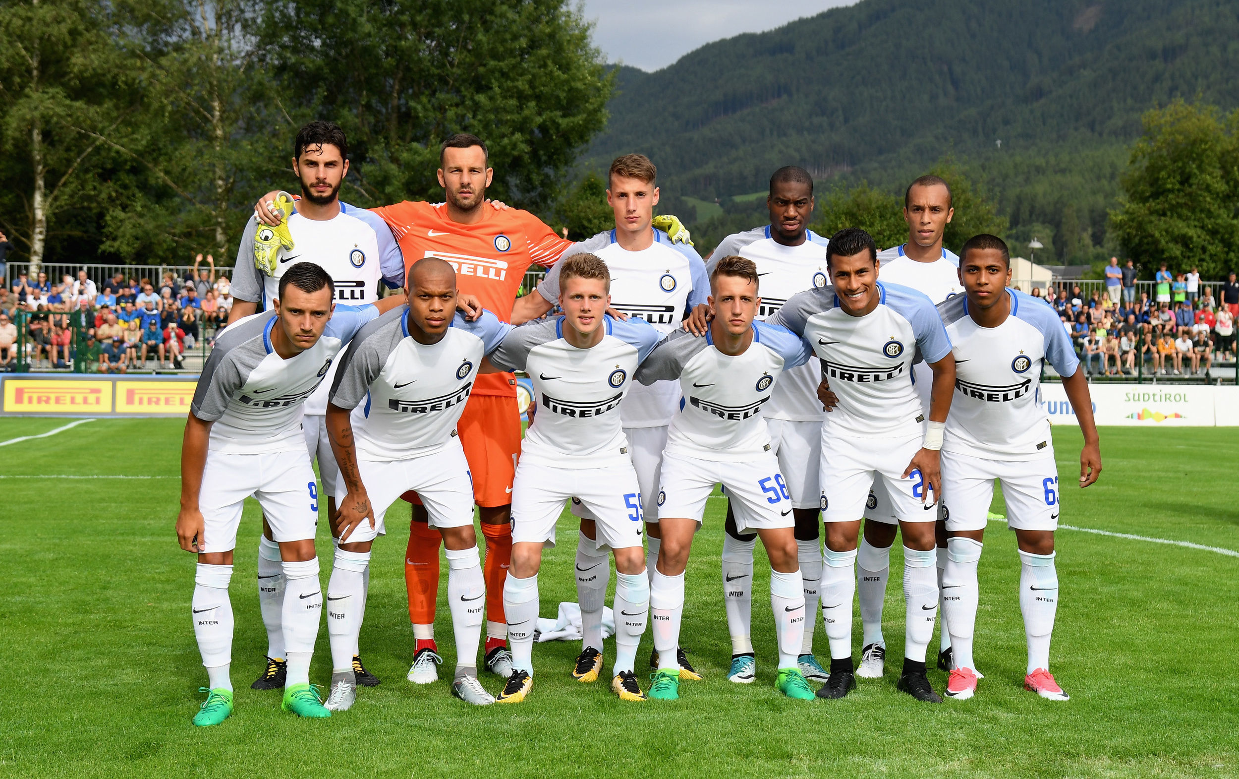 Images from Inter v WSG Wattens in Brunico