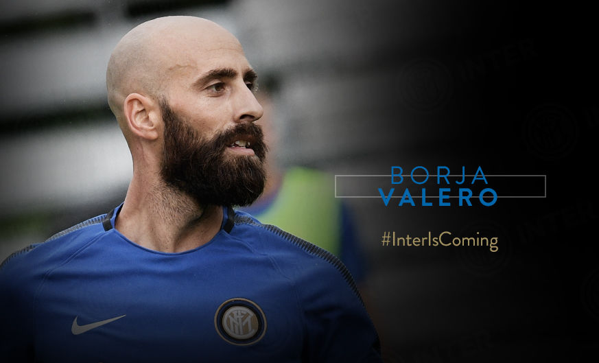 Borja Valero completes Inter move!