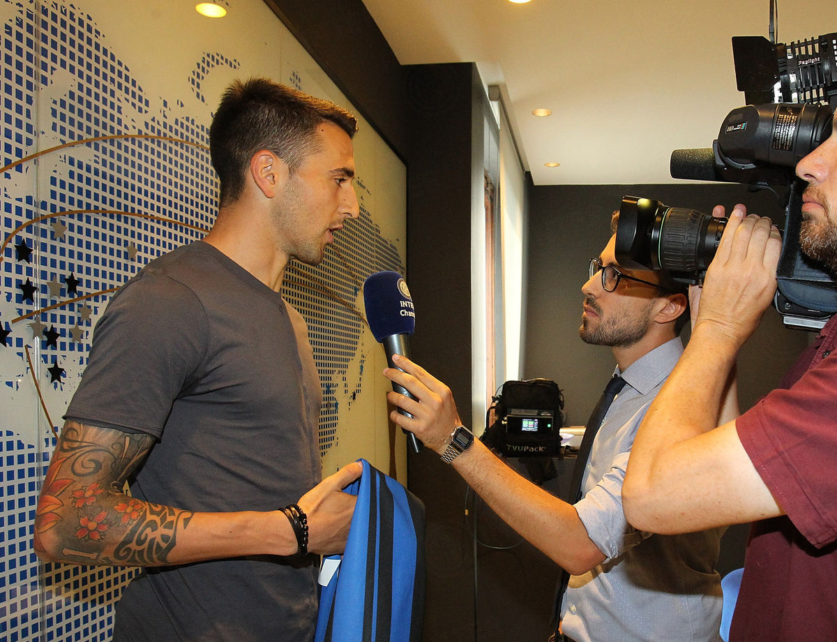 """Vecino: I'm extremely happy to be here in Milan"""""""