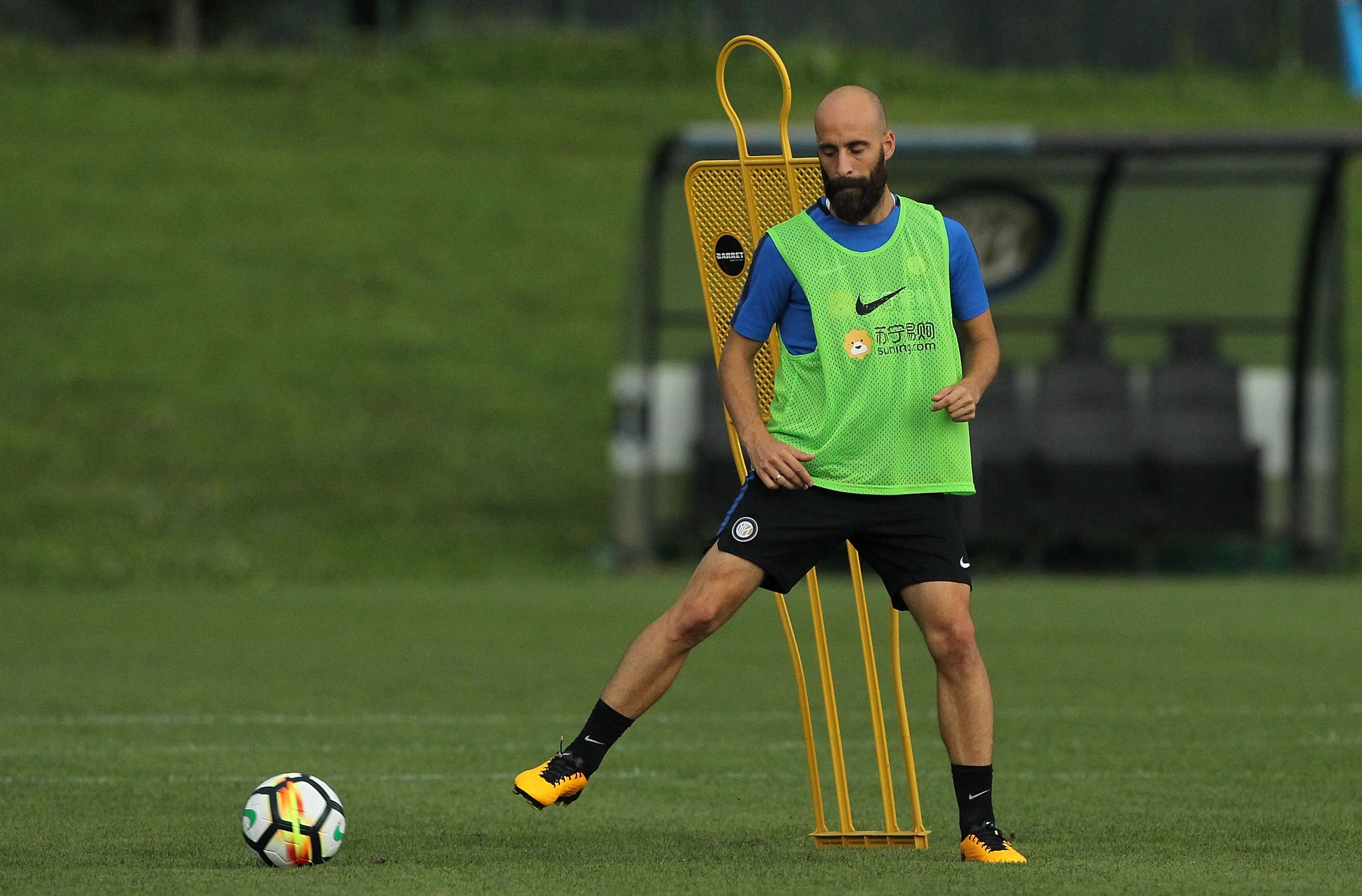 Training begins again at Suning Centre