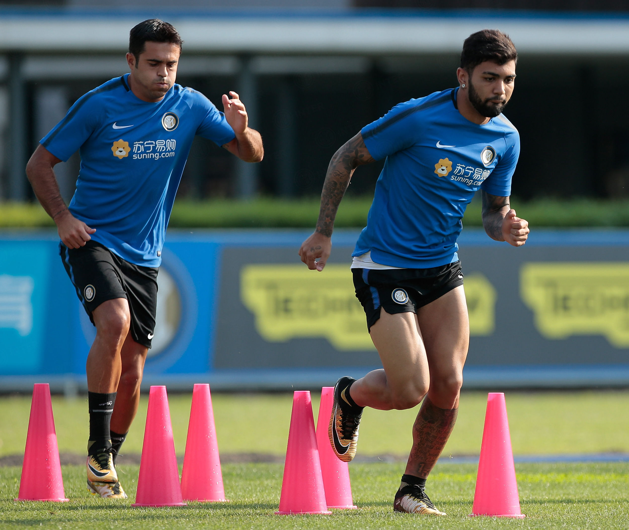 国际米兰VS佛罗伦萨最后一次训练