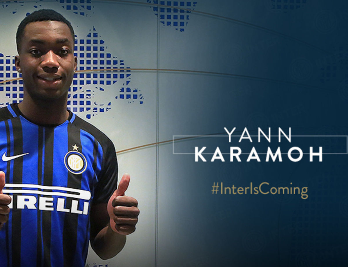 Karamoh signs for the Nerazzurri!