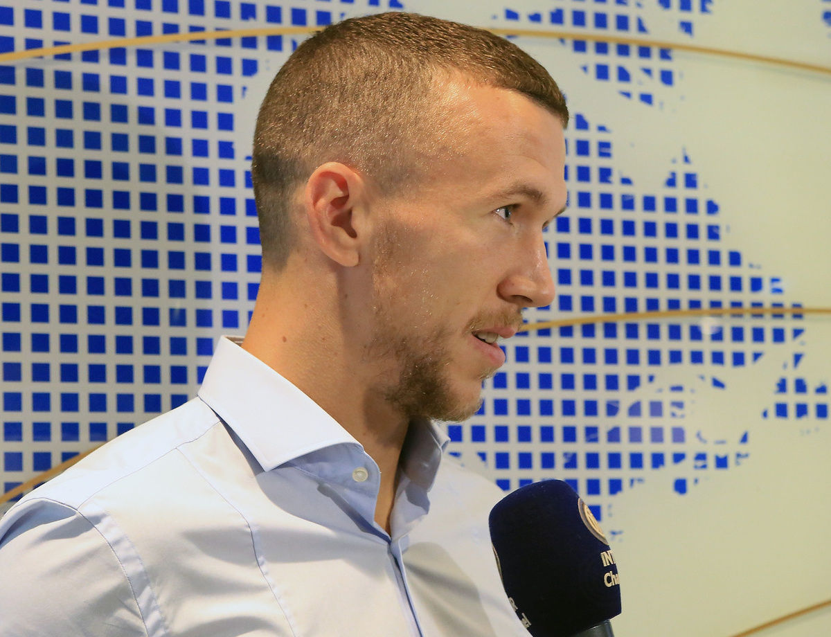 "Perisic: ""It's a special day, my head is now solely on the pitch"""