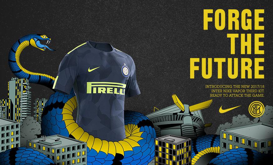 FC Internazionale Milano dan Nike persembahkan jersey ketiga musim 2017-18