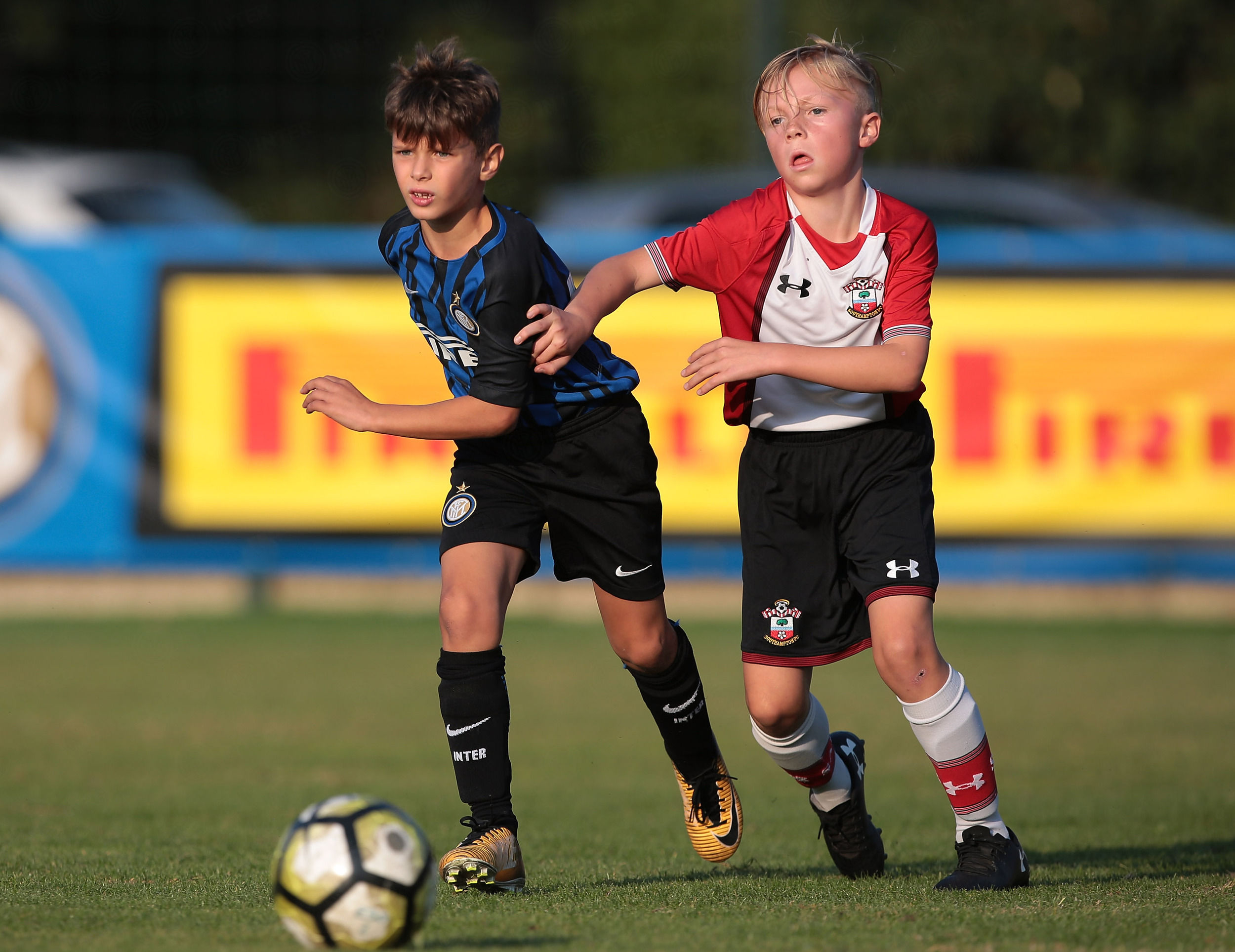 Southampton's youth teams spend three days in Milan