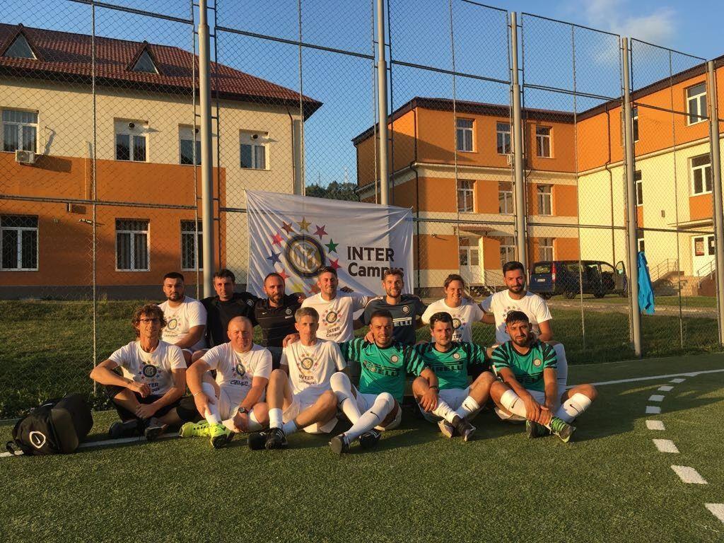 Anak-anak menjadi bintang di Inter Campus Rumania