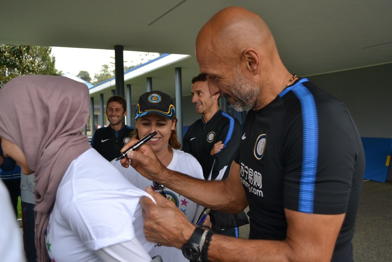 Para pelatih Inter Campus: Dari seluruh dunia hadir di Milan