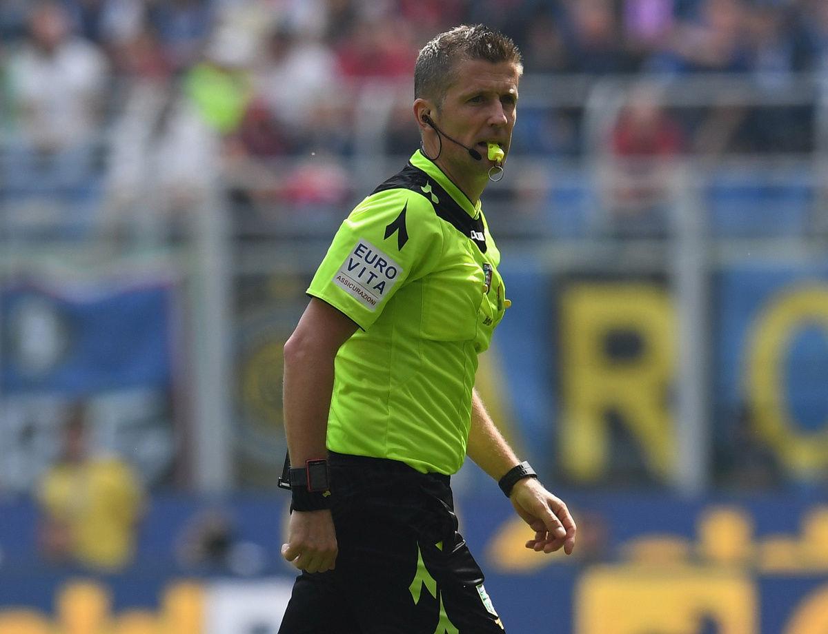 Orsato menjadi wasit duel Inter vs. Torino
