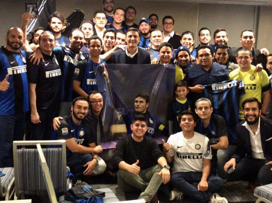 Zanetti berkunjung ke Inter Club Guatemala
