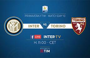 プリマヴェーラ1 TIM:インテル対トリノ戦をFacebookとインテルTVでライブ中継