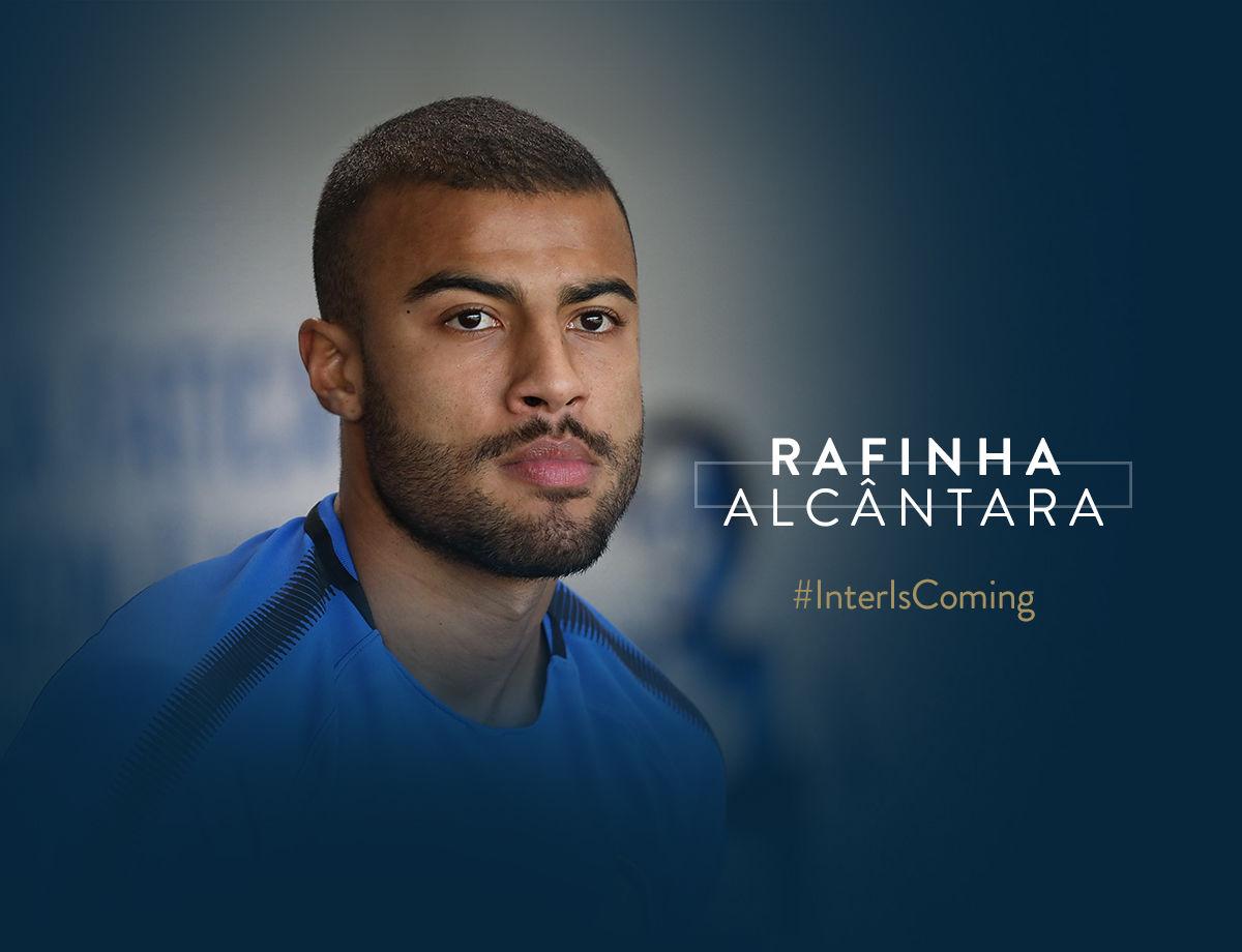 ¡Rafinha ya es nerazzurro!