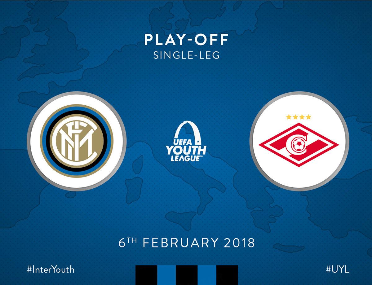 UEFA Youth League, Inter-Spartak Mosca: info accrediti